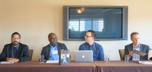 "Baraka Panel: ""In the Tradition of …': The Relationship Between Langston Hughes, Amiri Baraka and the Avant-Garde."" Grégory Pierrot; Jean-Philippe Marcoux; Tyrone Williams; John D. Lowney"
